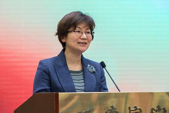 省委宣传部副部长徐宁发表讲话
