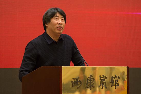 宗仁發在《雨花》創刊60周年紀念座談會上講話