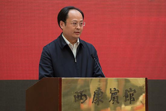 李贞强在《雨花》创刊60周年纪念座谈会上讲话