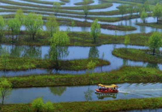 里下河风情图片:春日上河图