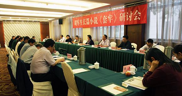 胡军生长篇小说《套牢》研讨会在南京召开
