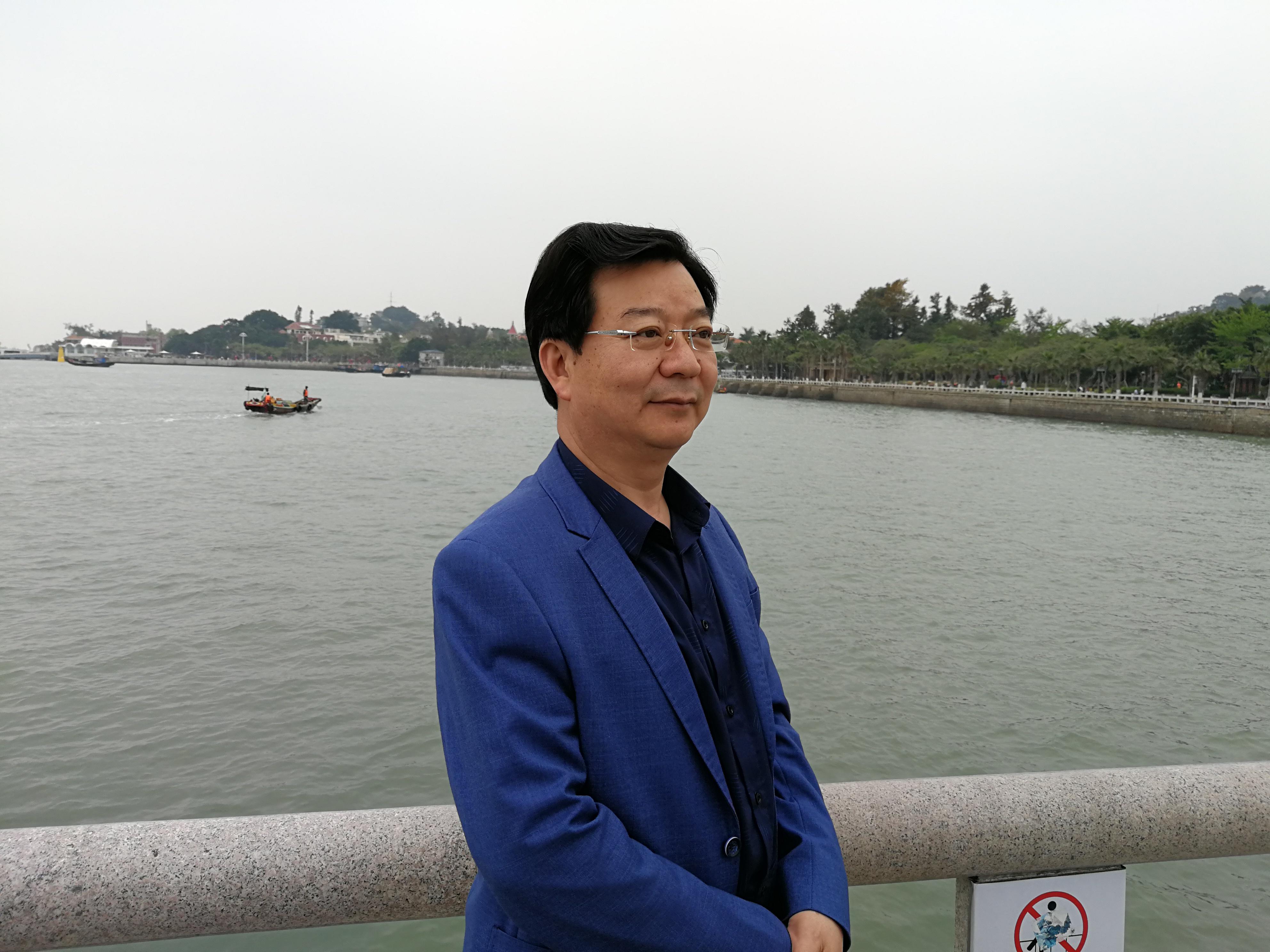 """刘仁前:""""香河?#20445;?#22312;我心田流淌"""