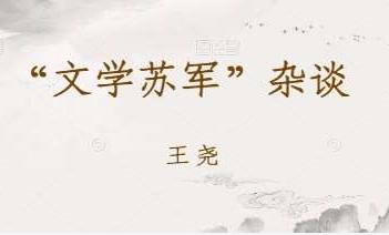 """王尧:""""文学苏军""""杂谈"""