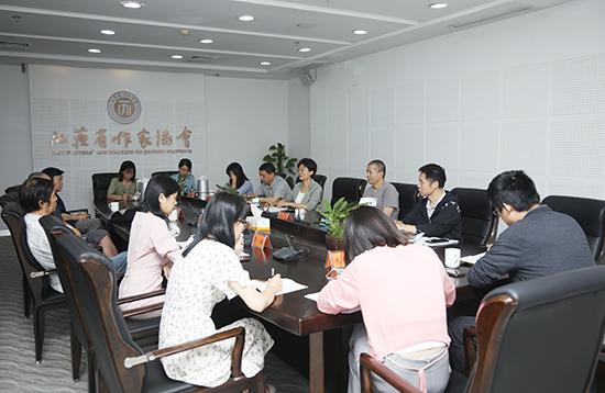 徐宁副部长与我省知名作家座谈重大题材文学创作