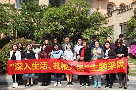 省作协组织中青年作家走进宿豫文学采风活动